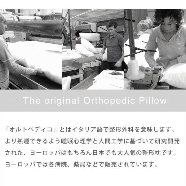枕 まくら オルトペディコ アンナブルー スリープメディカル枕 専用ピロケース付き セット futon 10
