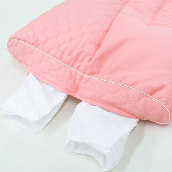 洗える枕 肩こり 東京西川 もっと肩楽寝 肩楽寝プレミアム 日本製 快眠枕 健康枕|futon|09