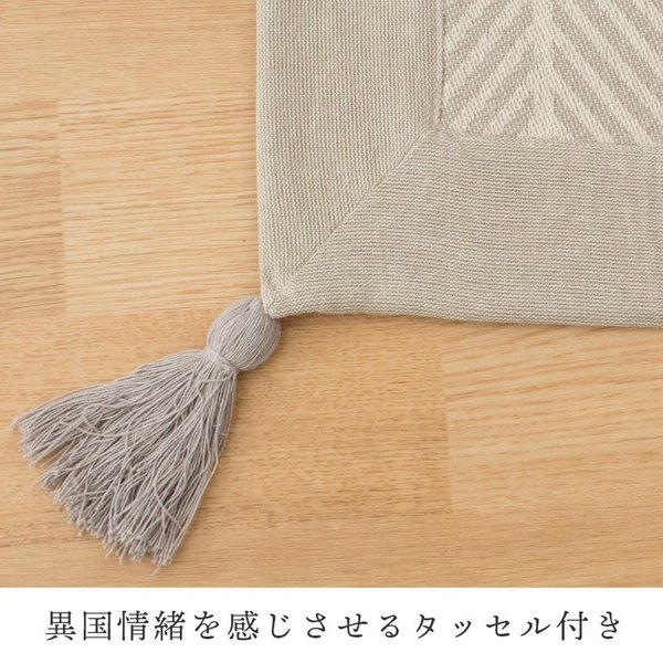 洗えるラグ 2畳 185×185cm インド綿100% オールシーズン ラグマット カーペット クラック|futon|02