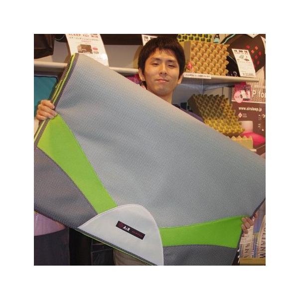 東京西川 エアー AiR 西川のエアーレイヤー オーバーレイマットレス ハードタイプ シングルサイズ カラー:グリーン|futonhouse|03