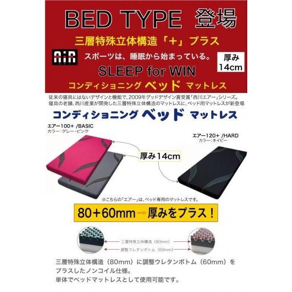 東京西川 エアー AiR01  西川のエアーベッド専用マットレス ハードタイプ シングルサイズ(ネイビー) 支払方法・クレジットのみ futonhouse 02