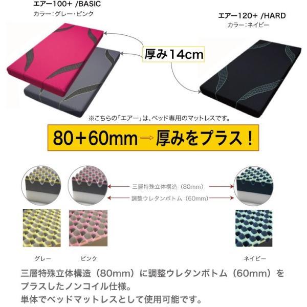 東京西川 エアー AiR01  西川のエアーベッド専用マットレス ハードタイプ ダブルサイズ(ネイビー) 支払方法・クレジットのみ|futonhouse|04