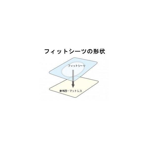 スリーピングハウスカラ−20 無地カラ− ベビー布団カバー ベビー用ラップシーツ フィットシーツ 子供用ベビーサイズ 70×120cm 綿 100% 日本製 赤ちゃん布団用|futonhouse|02