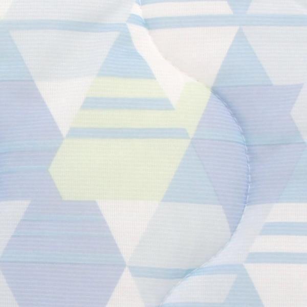 西川製 ひんやり ペンギン柄 トリアス柄 接触冷感 敷きパッド シングルサイズ 100×205cm 涼感 夏用 アデリーふとんタナカ 冷感 CM 敷パッド|futontanaka|05
