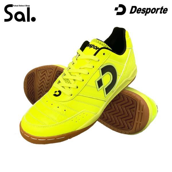 デスポルチ/Desporte インドアシューズ/カンピーナスJP5(Sal.×Desporte別注モデル)(DS-1430BT)(送料無料)|futsalshop-sal