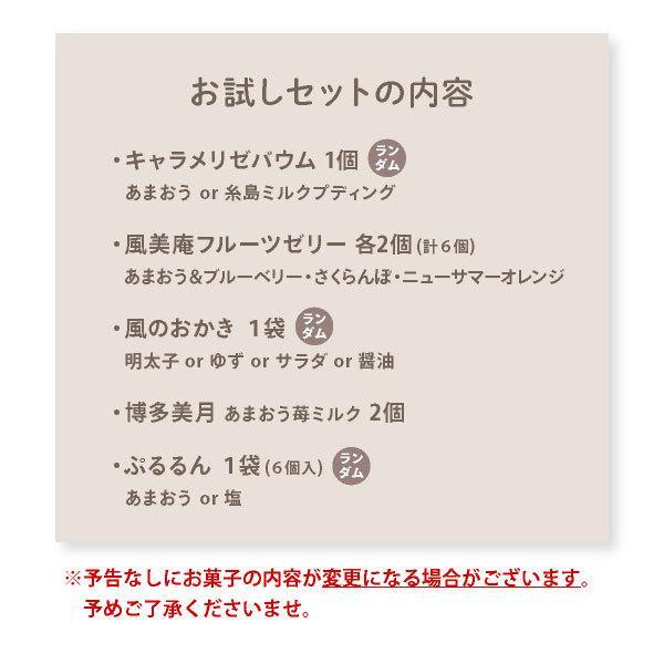 【メール便 送料無料】 NEW 博多風美庵お試しセット 秋バージョン mailbin|fuubian|08