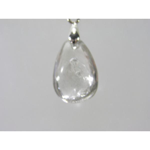 水入り水晶(クリスタル)のペンダントトップ  風水天珠堂 210329-3