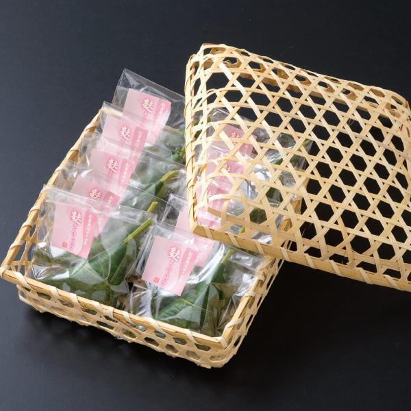 【贈答用】竹カゴ入り 生麩屋の麩まんじゅう(こしあん) 10個セット fuyamanshop 02