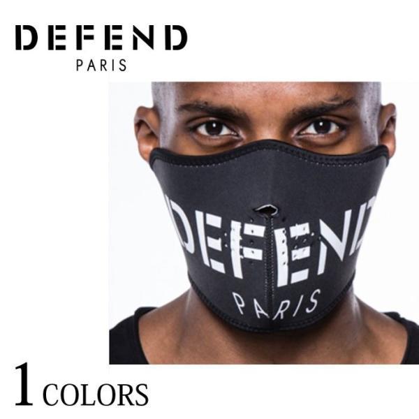 defend paris ディフェンドパリス facemask メンズ レディース ブラック