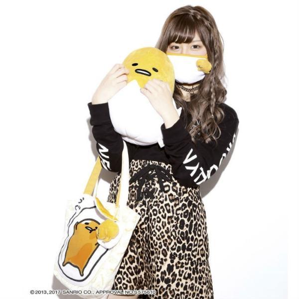 ぐでたまコラボ マスク[GNT0229]渋谷 花粉症 フェイスマスク 風邪予防 自撮り ますく サンリオ ぐでたま|g-field|03