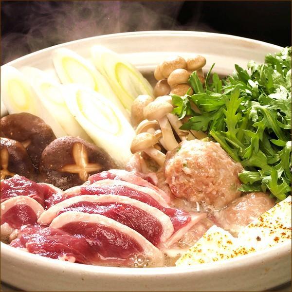 ギフト 鴨鍋セット (合鴨つみれ付き/塩味/2-4人前) かも鍋 だし スープ 北海道産 かも肉 鴨肉 贈り物 お礼 お返し 北海道 食品 グルメ お取り寄せ|g-hokkaido|02