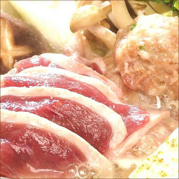ギフト 鴨鍋セット (合鴨つみれ付き/塩味/2-4人前) かも鍋 だし スープ 北海道産 かも肉 鴨肉 贈り物 お礼 お返し 北海道 食品 グルメ お取り寄せ|g-hokkaido|03