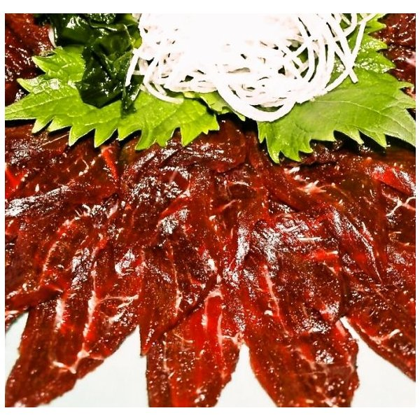 熟成鯨赤肉刺身用 500g