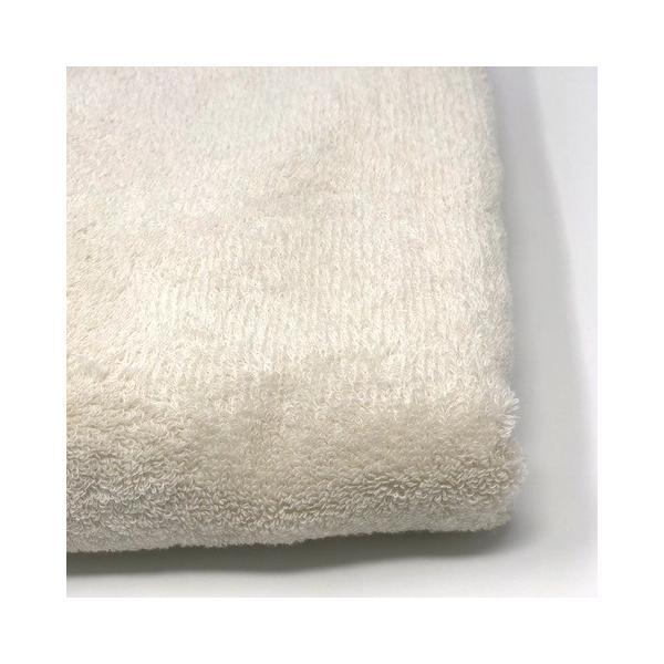 消臭・抗菌・速吸スマートバスタオル(今治タオル)<アイボリー> -34cm×120cm- G-MAQ Tech. Products g-maq