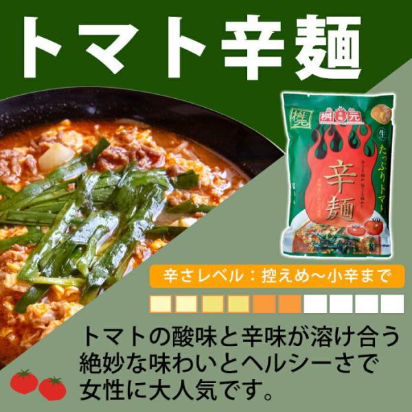 元祖 桝元の辛麺 (緑) トマト辛生麺パック 5食セット
