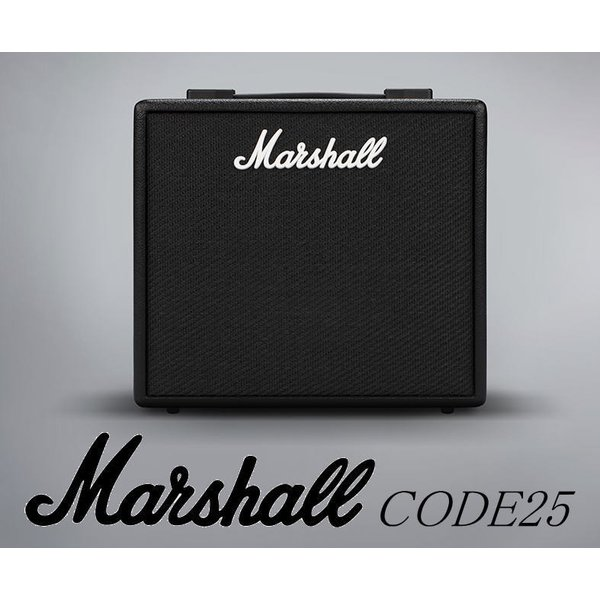 MarshallCODE25DigitalGuitarAmpマーシャルデジタル・ギター・アンプ