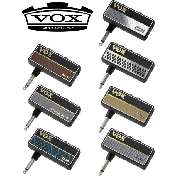 VOXamPlug2(AC30/ClassicRock/Metal/Blues/Lead/Clean/Bass) AP2 ヴォッ