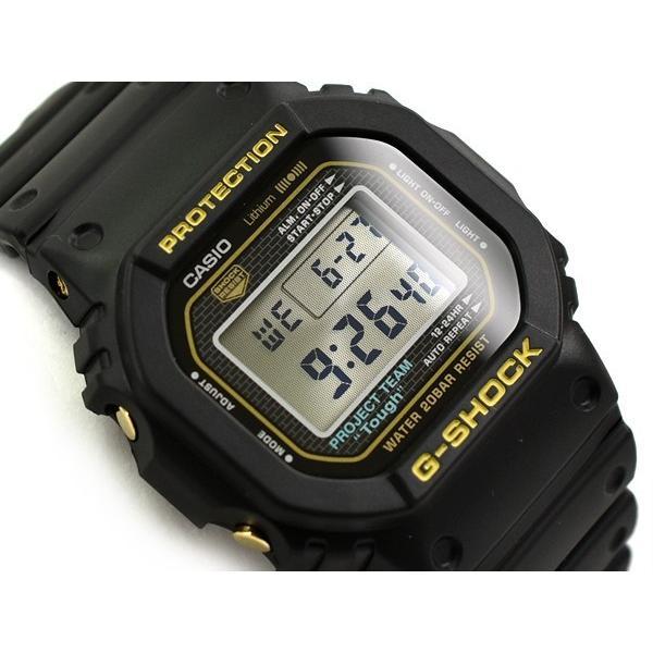 G-SHOCKGショック日本製35周年 モデル逆輸入海外カシオ腕時計ゴールドDW-5035D-1B