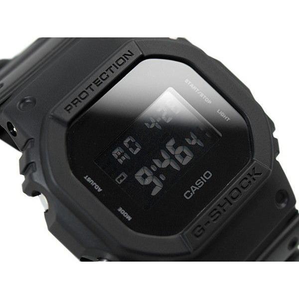 G-SHOCKGショックジーショックg-shockソリッドカラーズ モデルオールブラックデジタル腕時計DW-5600BB-1