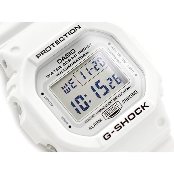 G-SHOCKGショックマリンホワイト逆輸入海外モデルCASIOカシオデジタル腕時計ホワイトDW-5600MW-7ERDW-56