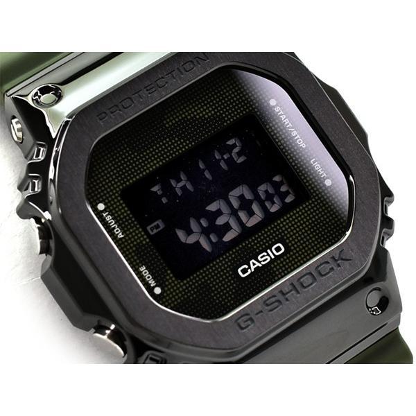 G-SHOCKGショックジーショック5600メタル逆輸入海外モデルCASIOカシオデジタル腕時計グリーンブラックGM-5600B