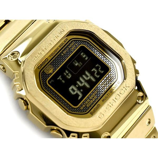 G-SHOCKGショック35周年記念 フルメタル日本製逆輸入海外モデル電波ソーラー腕時計ゴールドGMW-B5000GD-9
