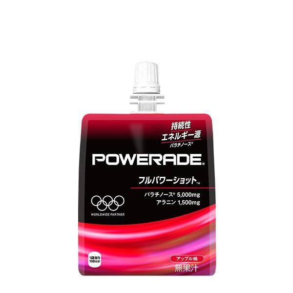 コカ・コーラ パワーエイドゼリー フルパワーショット 180gパウチ 6本入×1ケース|g-system