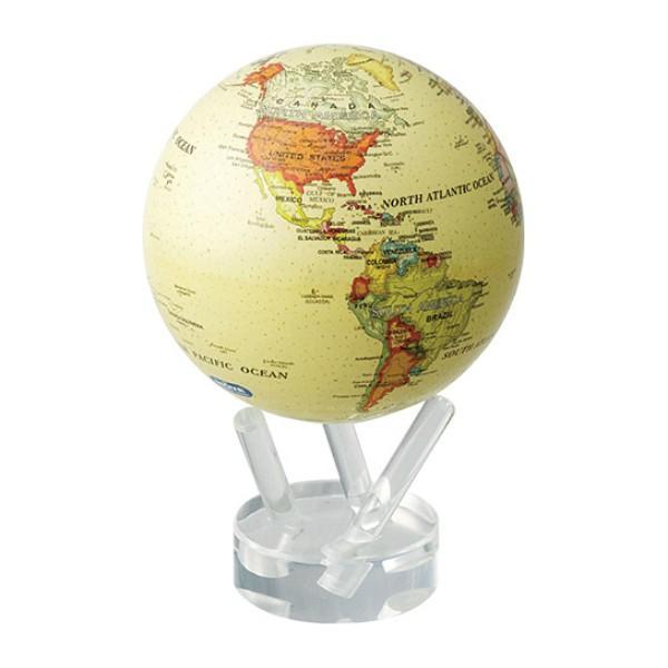 MOVA アンティークベージュ 11cm 地球儀