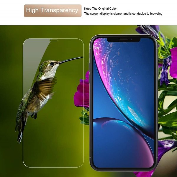 iPhone ガラスフィルム iPhoneXR iPhone XR アイフォン 保護フィルムフレームレス 2枚セット 全面保護 強化ガラス OKB|g-winkelen-store|18
