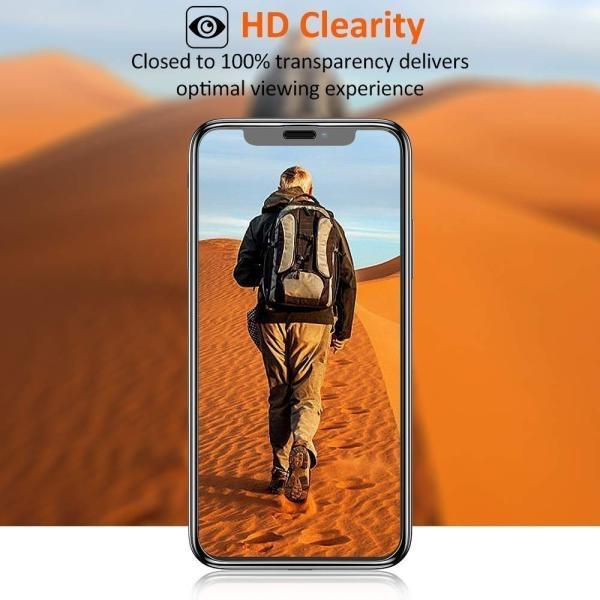 iPhone ガラスフィルム iPhoneXR iPhone XR アイフォン 保護フィルムフレームレス 2枚セット 全面保護 強化ガラス OKB|g-winkelen-store|05