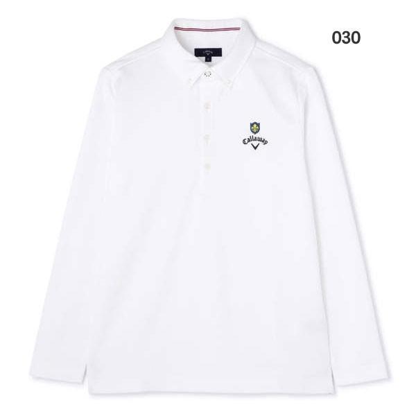 キャロウェイ ゴルフウェア メンズ B.D.カラーシャツ 241-8256507 2018秋冬 g-zone 02