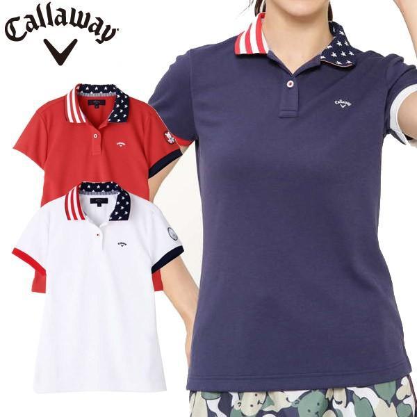 キャロウェイ ゴルフウェア レディース ポロシャツ 9151830 2019春夏 30%OFF|g-zone