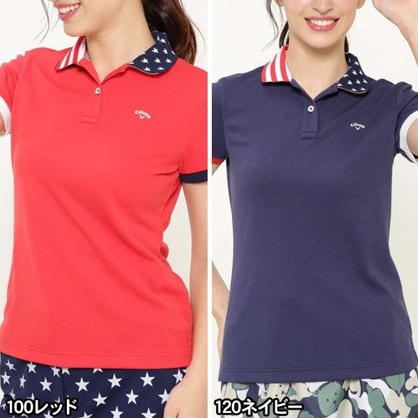 キャロウェイ ゴルフウェア レディース ポロシャツ 9151830 2019春夏 30%OFF|g-zone|02