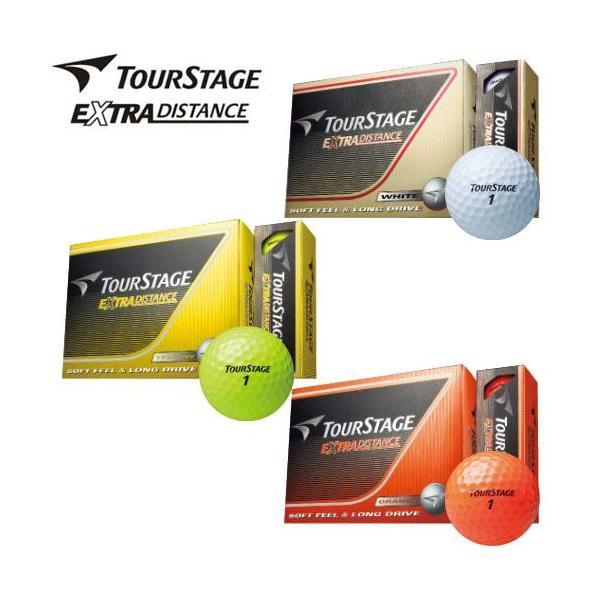 ツアーステージ EXTRA DISTANCE ゴルフボール 1ダース 2014|g-zone