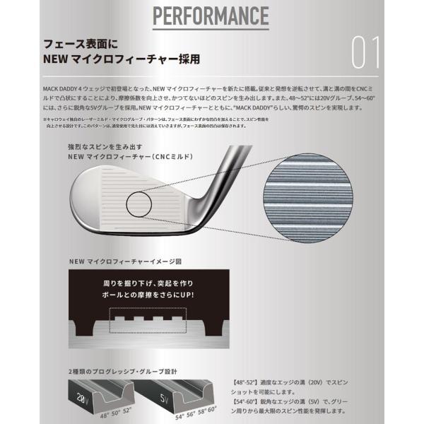 キャロウェイ マックダディ フォージド ウェッジ クロム仕上げ 日本仕様 2019モデル g-zone 04