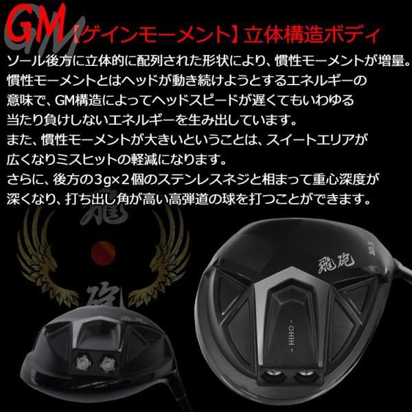 超高反発 リンクスゴルフ 飛砲 ドライバー Fujikura ZERO SPEEDER Lynx Golf HIHO g-zone 06
