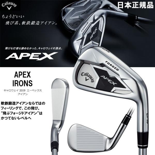 キャロウェイ エイペックス アイアン 6本セット カーボン 日本仕様 2019年モデル APEX|g-zone|02