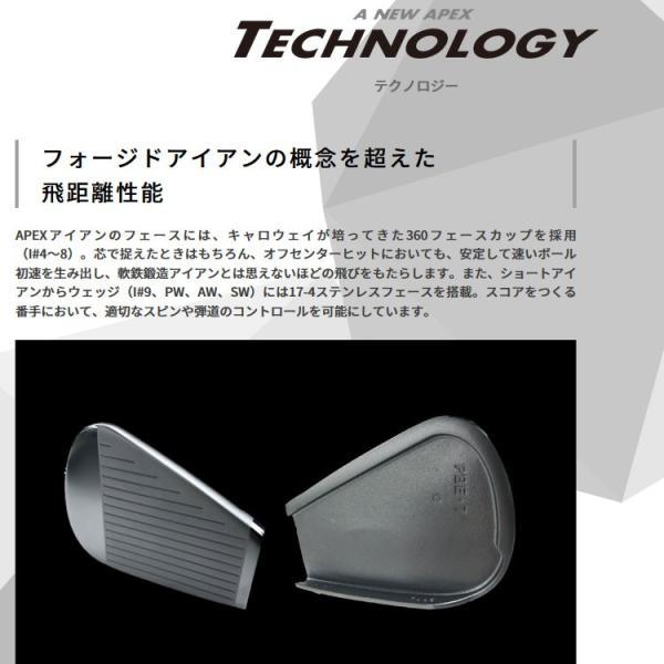 キャロウェイ エイペックス アイアン 6本セット カーボン 日本仕様 2019年モデル APEX|g-zone|03