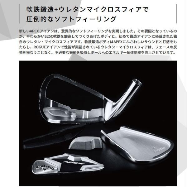 キャロウェイ エイペックス アイアン 6本セット カーボン 日本仕様 2019年モデル APEX|g-zone|04