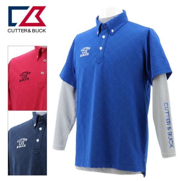 カッター&バック ライトストレッチセットアップシャツ メンズ 春夏 ゴルフウェア CGMPJA23W