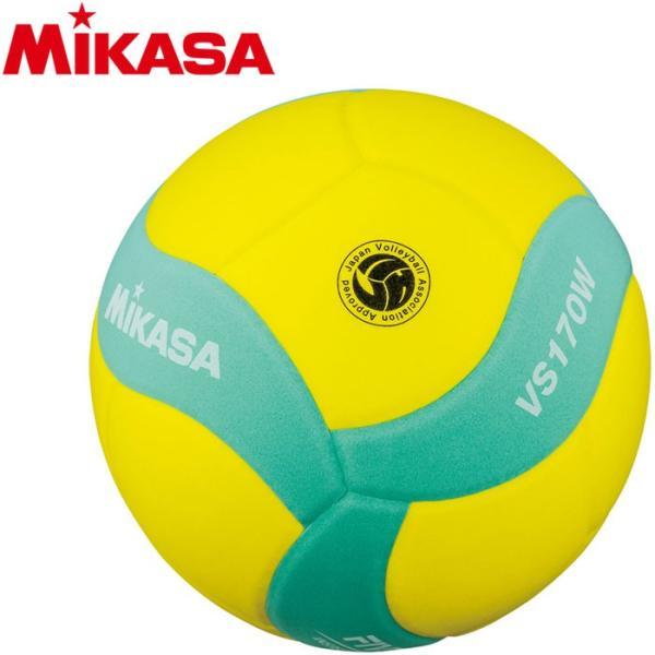 ミカサ FIVB公認 スマイルバレーボール5号 VS170WYG