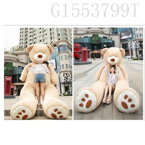 ぬいぐるみ特大くまテディベアアメリカCostCo巨大くまぬいぐるみ熊縫い包み130cm|g1553799t|09
