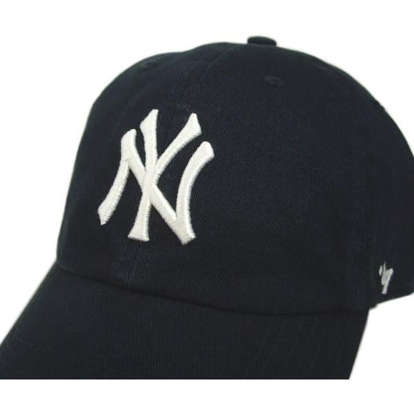 '47 Brand MLB カジュアルキャップ (CLEAN UP CAP/クリーンナップ キャップ) ニューヨーク・ヤンキース|g2sports|04