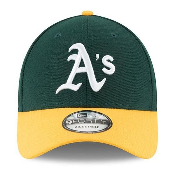NEW ERA (ニューエラ) MLBレプリカキャップ (The League 9FORTY 940 MLB Cap) オークランド・アスレチックス|g2sports|02