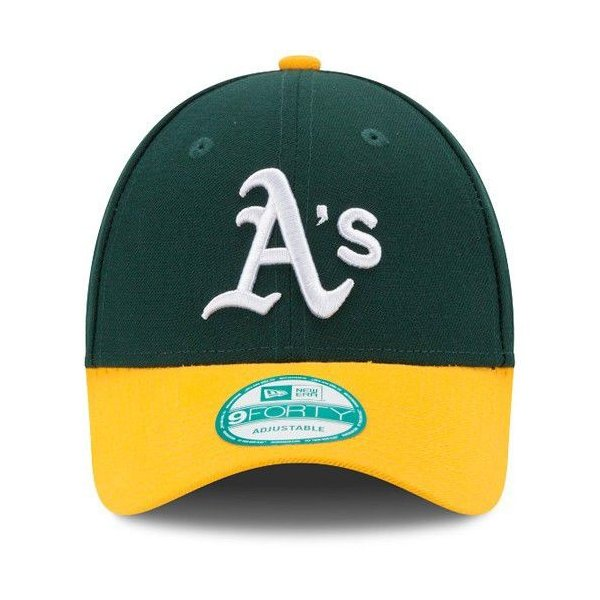 NEW ERA (ニューエラ) 子供用 (キッズ〜ユース用) MLBレプリカキャップ (The League 9FORTY 940 MLB Youth Cap) オークランド・アスレチックス g2sports 02