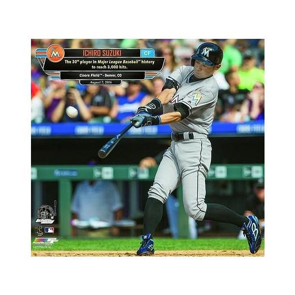 イチロー MLB通算3000本安打達成記念 MLBフォト|g2sports|03