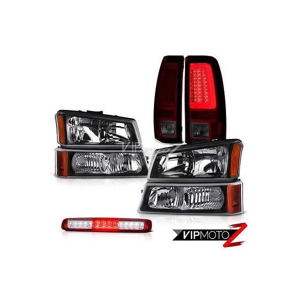 カー用品 パーツ ヴェノムインク 03-06 シルバラード 2500Hd スモーク レッド テール ランプ バンパー ランプ ハイ ストップ ヘッドライト ga-imp 01