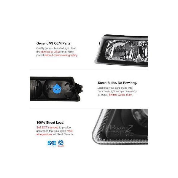 カー用品 パーツ ヴェノムインク 03-06 シルバラード 2500Hd スモーク レッド テール ランプ バンパー ランプ ハイ ストップ ヘッドライト ga-imp 06