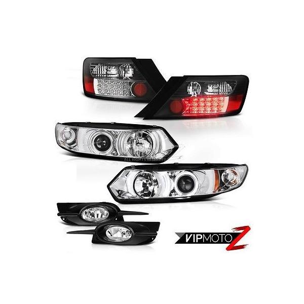 For 09-11 Honda Civic 2 Door Coupe Yellow Lens Chrome Housing Fog Lights Lamps