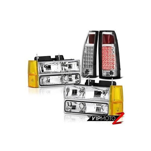 For 1994 1995 1996 1997 1998 1999 Gmc C//K 10 Truck Suburban Turn Signal Corner Light lamp Assembly Passenger Right Side Replacement GM2551148 Yukon